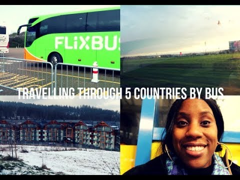 Travelling by Bus through 5 countries to get to Poland ||Chantelle Kaaria ||Vlog No2