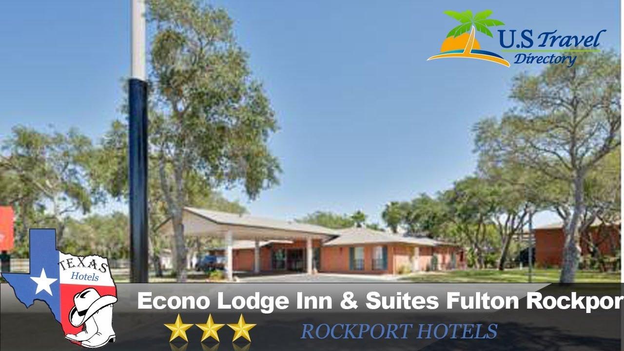 Econo Lodge Inn Suites Fulton Rockport Hotels Texas