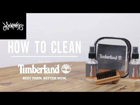 Journeys | How to Clean Your Timberlands