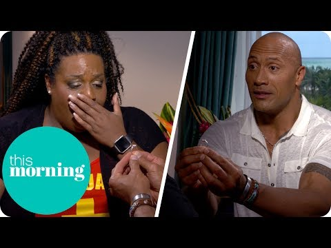 Dwayne Johnson Proposes to Alison!? | This Morning