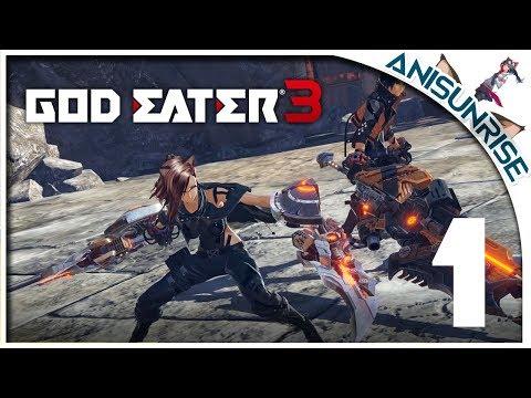 God Eater 3 ➥ Прохождение на русском ➥ #1 - Мир слишком изменился