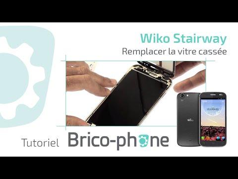 Tuto : Wiko Stairway changer la vitre cassée démontage + remontage HD