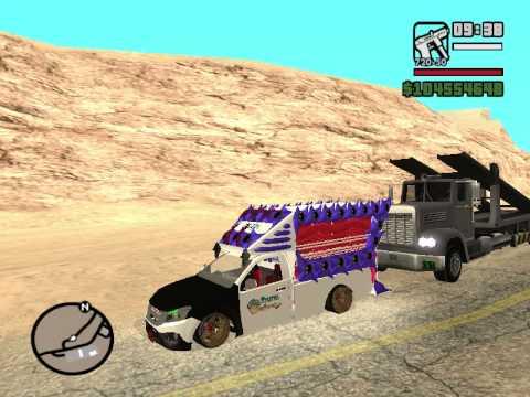 MOD GTA San รถติดเครื่องเสียง&กระบะดีเซล ช่างอาร์ท