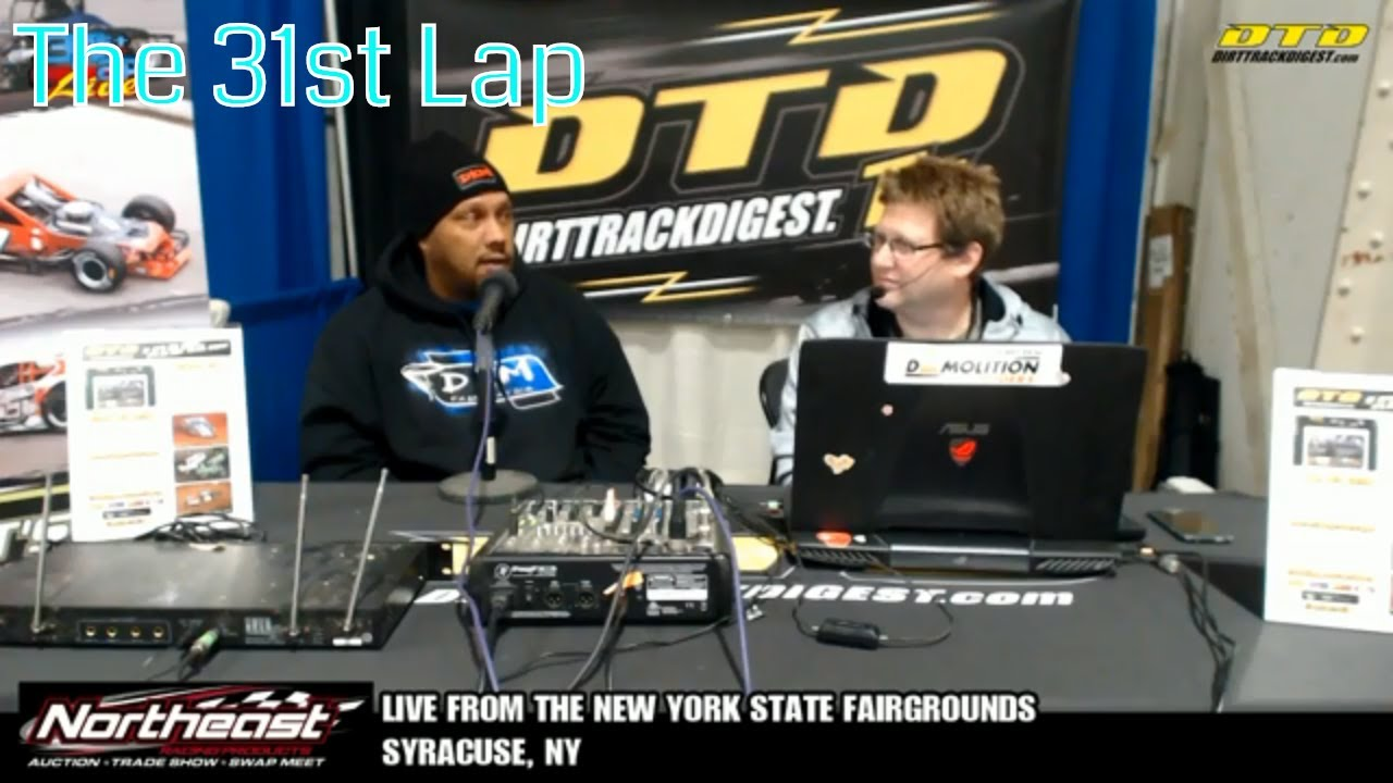THE 31ST LAP: Live from the Northeast Racing Products Trade Show (podcast)