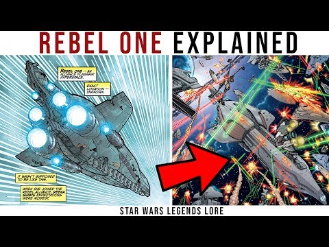 REBEL ONE - The Alliance's Modified Providence Cruiser - Explained | Star Wars Lore