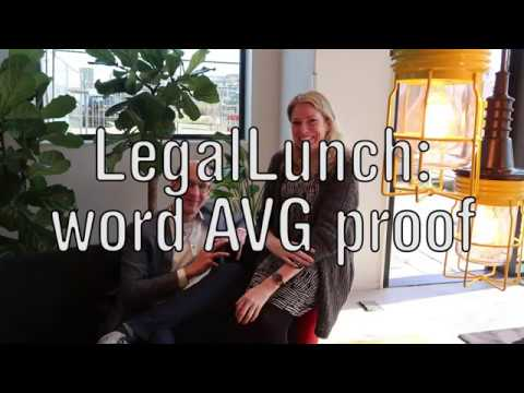 LEGAL LUNCH : BEN JIJ AL AVG PROOF?