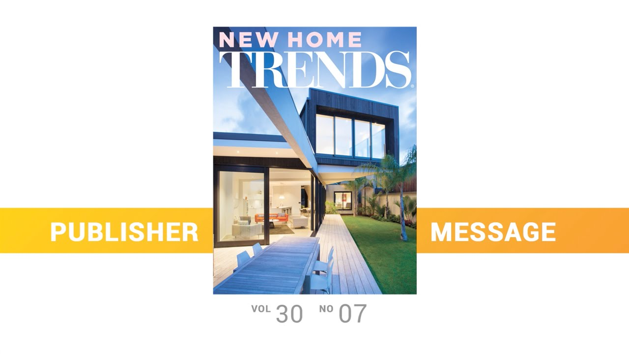 New zealand australia new home trends publisher message for New home trends