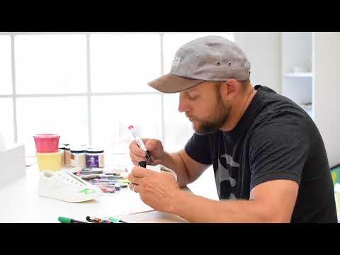 Artist Matt Corrado Paints Sneakers for Complex Con