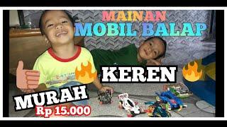 Unboxing mainan anak mobil mobilan balap Tamiya murah unboxing tamiya murah unboxing mainan murah