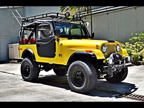 Sold 1980 Jeep Cj7 Youtube