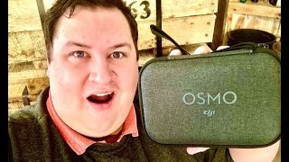 Time for some packages!!(DJI Osmo unboxing)