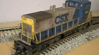 Changing Sound Sets on MTH PS2 engines - Part 1 of 2