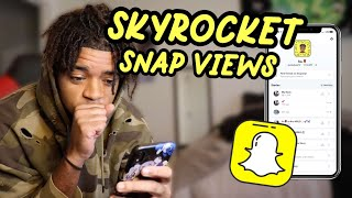 How To Get M๐re Views On Snapchat!! *2021 WORKING METHOD*