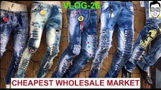 tank road 150rs jeans shirts wholesale market boys girls  part 1  delhi