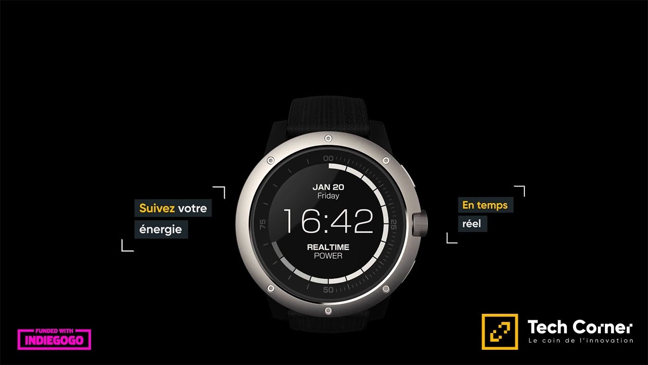 Matrix powerwatch une smartwatch a batterie illimit e tech corner youtube for Matrix powerwatch