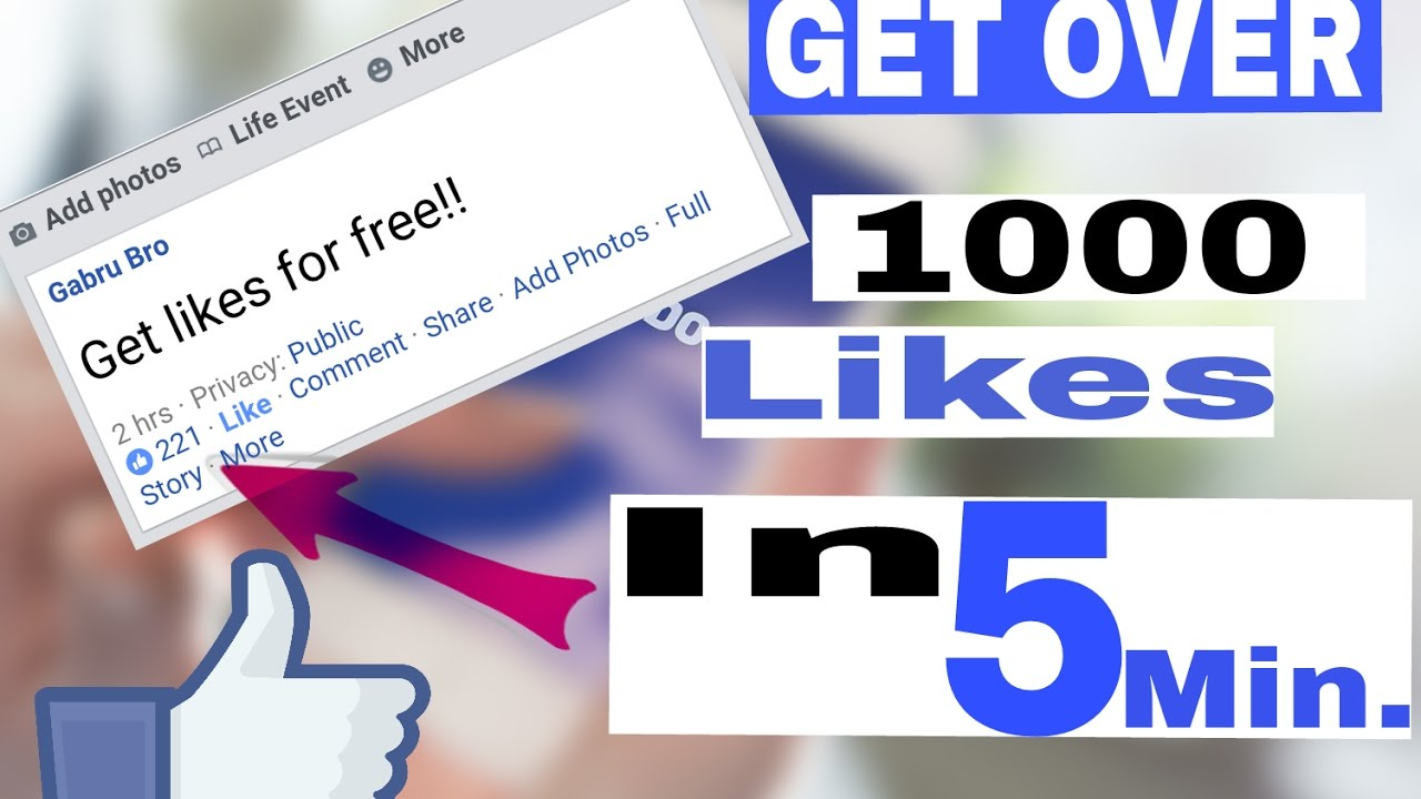 How to get more likes on Facebook Photo/Post? The best ...