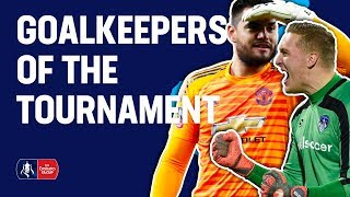 Romero, Iversen, Day, or Roos? Pick YOUR Goalkeeper of the Tournament!   Emirates FA Cup 18/19