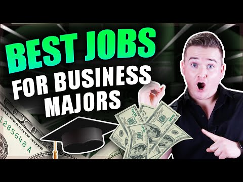 Top 10 Jobs For BUSINESS Majors in 2019!! (High Paying!)