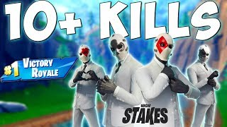 THE NEW WILD CARD SKIN (10+ Kills to Unlock) Fortnite Battle Royale Gameplay