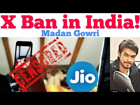 X Ban in India | Tamil | Madan Gowri | MG