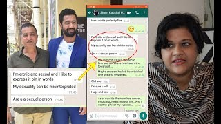 Exclusive Interview: Vicky Kaushal's Father Sham Kaushal's Vulgar Chats Exposed By Victim Ankita