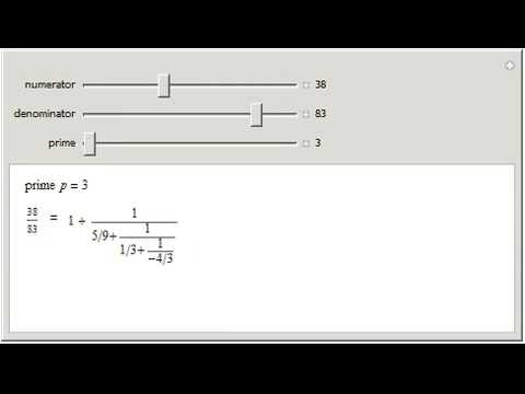 p-Adic Continued Fractions