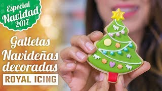 decoración con royal icing