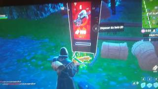 A Free Distributor at Fatal Fields in Fair Show Mode on Fortnite