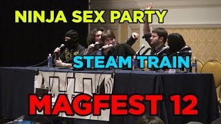 Ninja Sex Party & Steam Train at MAGFest 12 / 2014 (with subtitled questions)