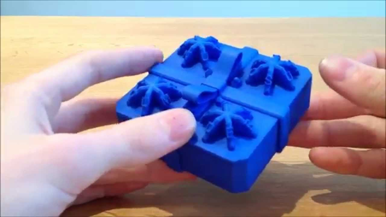 3d printed present centrifugal puzzle box putting a spin on