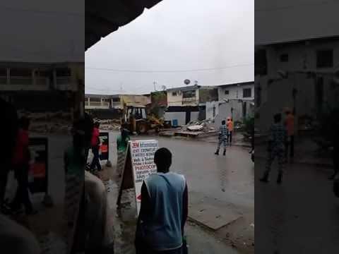 CI / Abidjan : Plusieurs maisons rasées à Koumassi Sopim