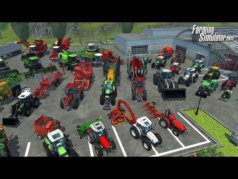Best Farming Games - Farming Simulator GamePlay Trailer