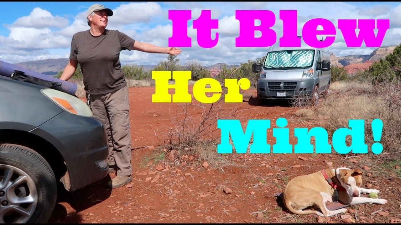 long-lost-tribe-member-kelly-loves-sedona-az-boondocking-in-her-minivan