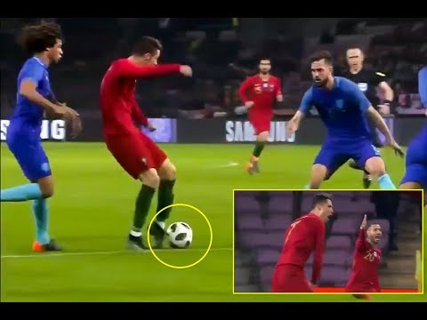 Cristiano Ronaldo Gets Angry Funny Dive Portugal Vs Netherlands HD 2018