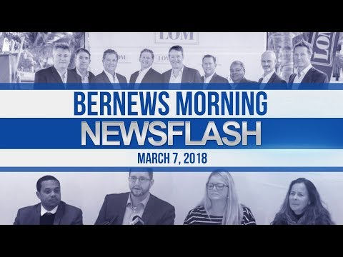 Bernews Newsflash For Wednesday March 7, 2018