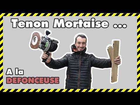 [#DIY 17] TENON MORTAISE A LA DÉFONCEUSE