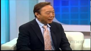 Dr. John Chao shows the Pinhole Surgical Technique on the Dr. Steve Show
