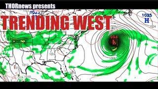 East Coast! Be Prepared! Models have MONSTER HURRICANE trending West