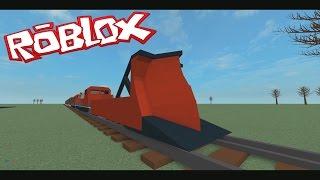ROBLOX treno Plow VS Auto e camion