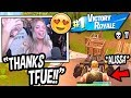 Tfue Gets ALISSA VIOLET Her FIRST Win *LIVE* On Stream! (HILARIOUS!) Fortnite FUNNY & SAVAGE Moments