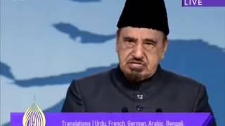 English Speech  Response to criticism on the Holy Quran   Jalsa Salana UK 2013