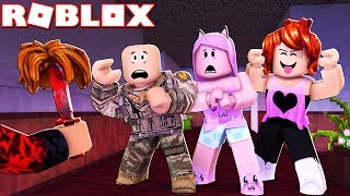 The MURDER LEFT MY BALD FATHER (Roblox-Murder Mystery 2)