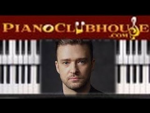 🎹  JUSTIN TIMBERLAKE - Can't Stop The Feeling...