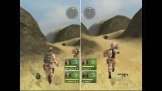 Conflict Desert Storm - 2p Speedrun on Hard