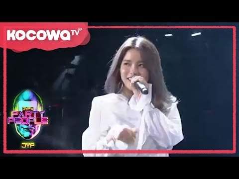 [JYP's Party People]Ep.12_Mamamoo Solar's Sexy back