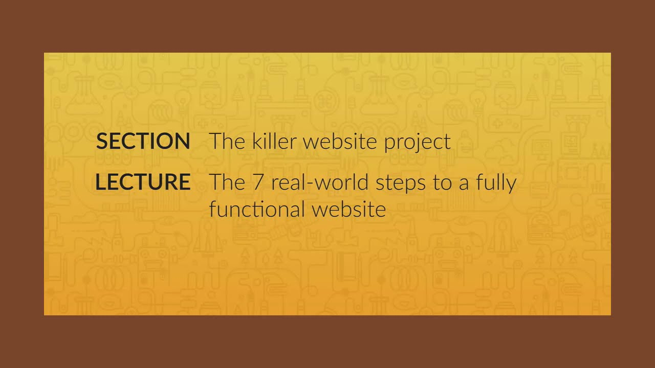 The 7 Real World Steps to A Fully Functional Website