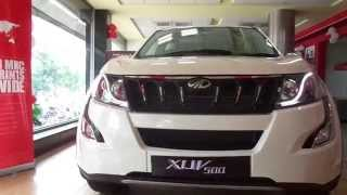 #Cars@Dinos: New Mahindra XUV 500 2015 W10 Interior Exterior Walkthrough (what