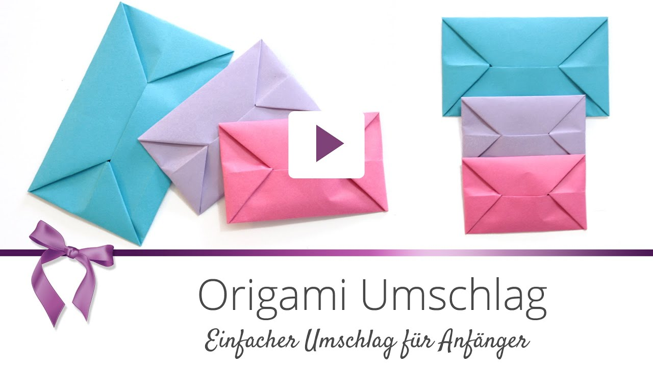 umschlag falten origami my blog. Black Bedroom Furniture Sets. Home Design Ideas