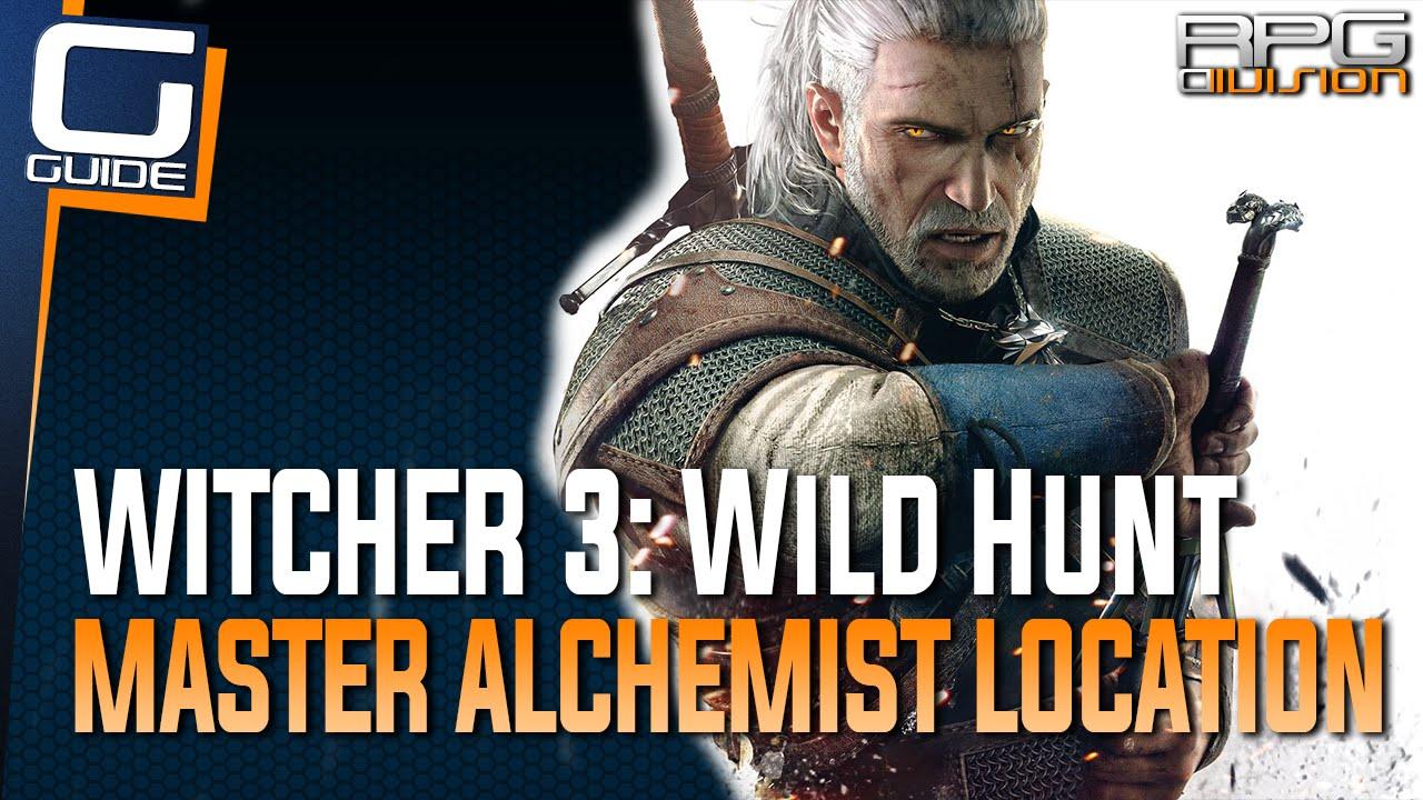 Witcher 3 - Master Alchemist Location (Sells all substance formulas like  Nigredo, Albedo, Rebis   )