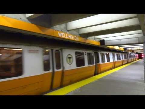 MBTA - Orange Line @ Wellington